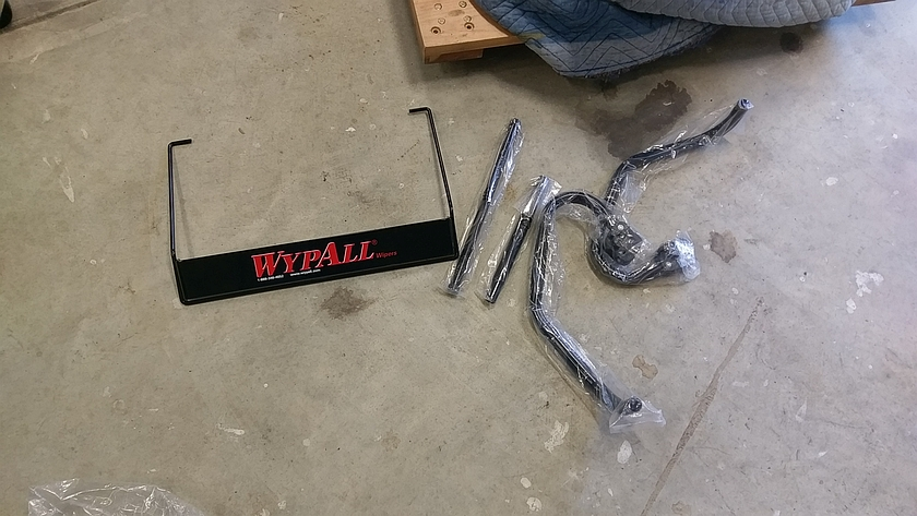 WypAll Wall Mopunt Towel Dispenser Parts