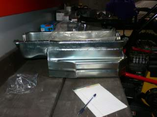 Armando Racing Tiger Oil Pan Side