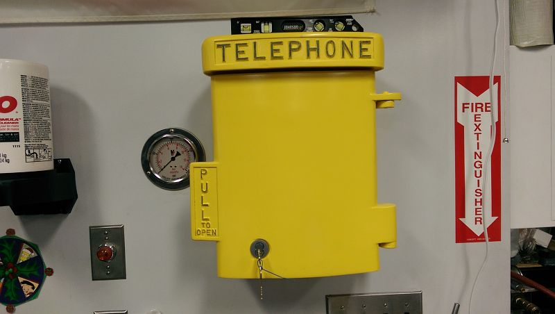 Mounted Vintage Call Box