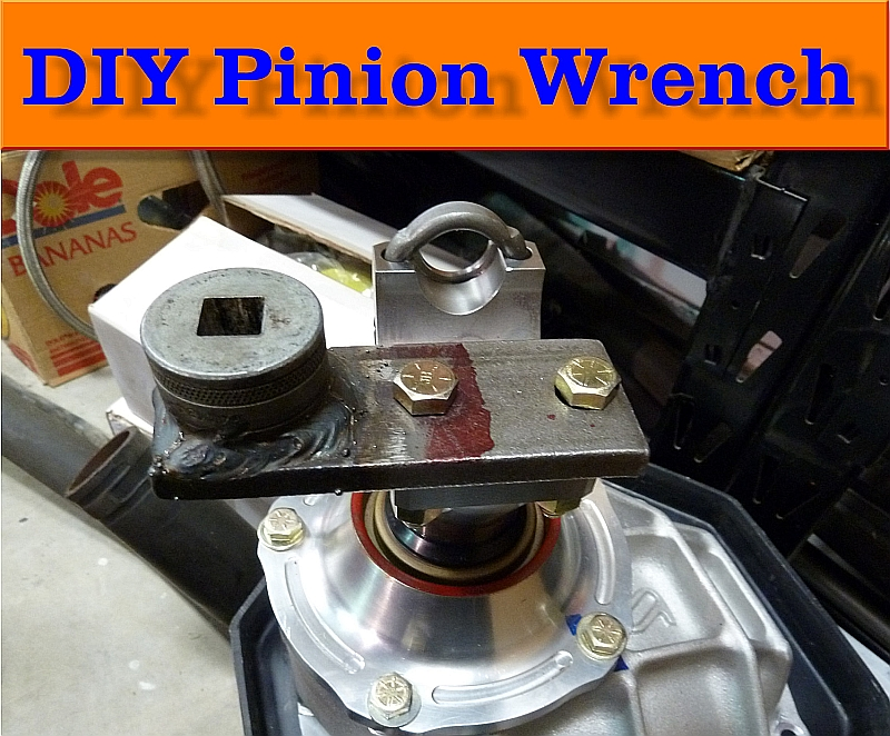DIY Pinion Wrench