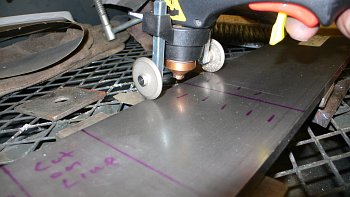 Diff Stand - Plasma Cutter and Rollers