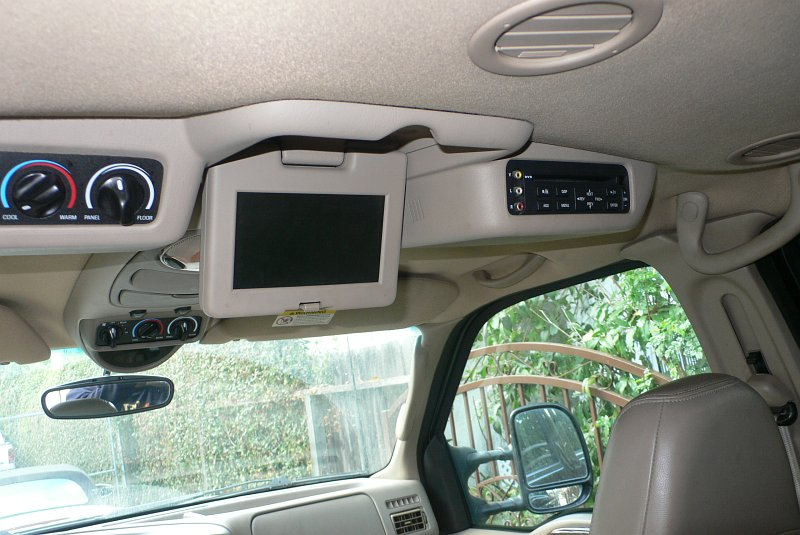 Ford Excursion and Super Duty Entertainment Console