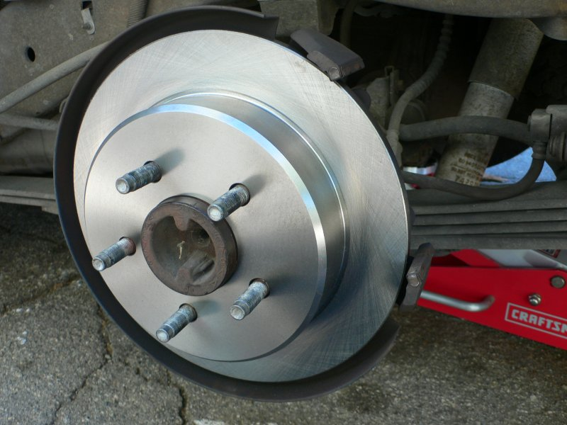 Ford Explorer New Rear Rotor