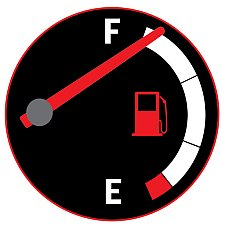 Fuel Gauge Cartoon