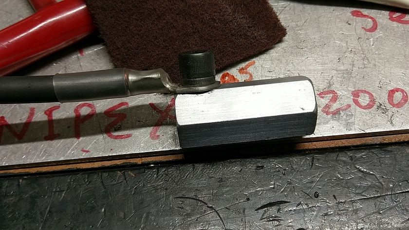 Finished Grounding Clamp Block