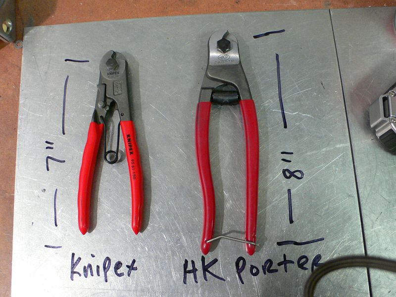 HK Porter and Knipex Cable Cutters