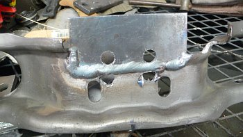 Mustang Crossmember Welding for T101
