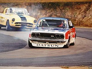 Sunbeam Tiger and Datsun 610 Racing