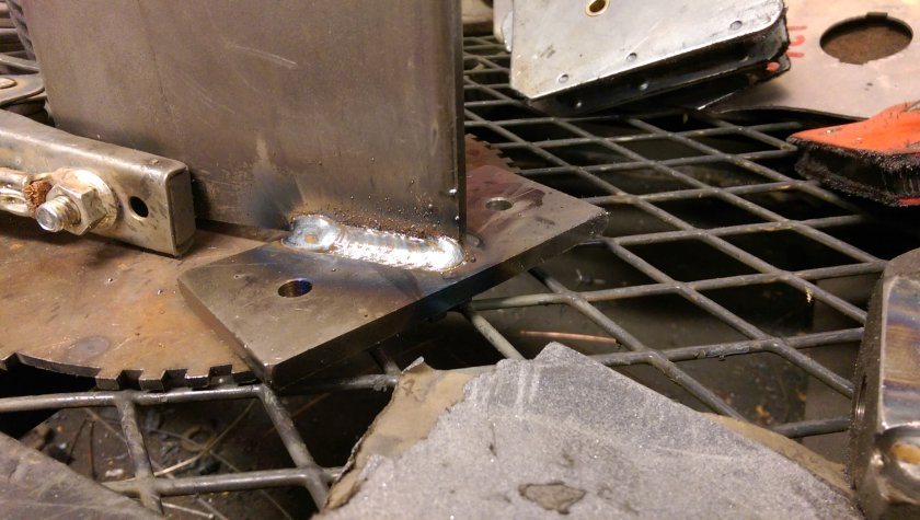Tiger Sway Bar Bracket Welded