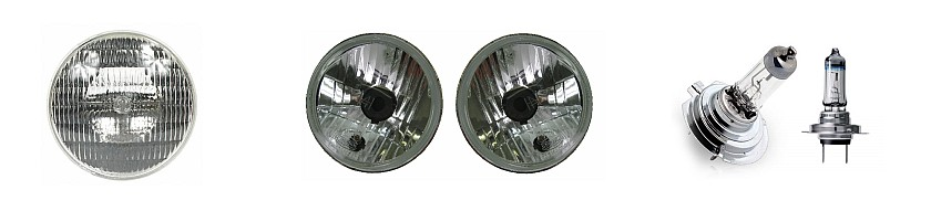Typical Automotive Headlamps