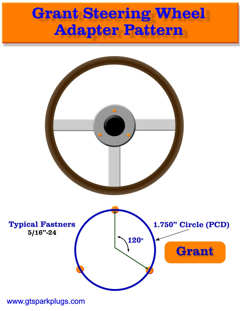 Grant Adapter Bolt Pattern
