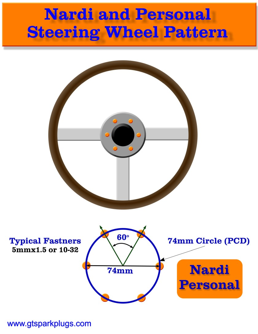 Nardi Adapter Bolt Pattern
