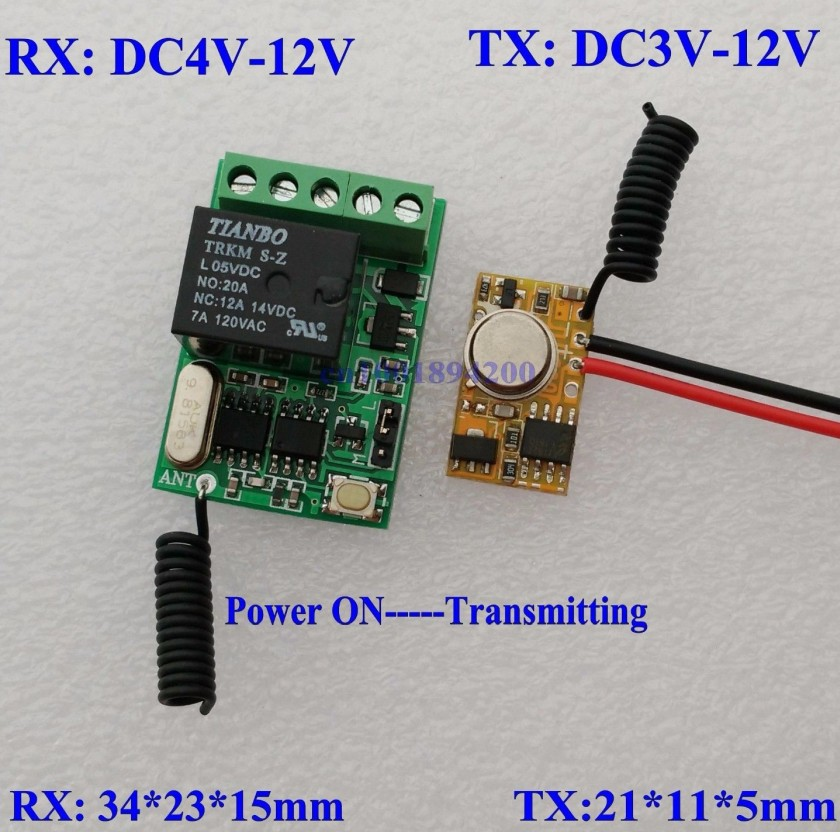 Wireless Transmitter Kit